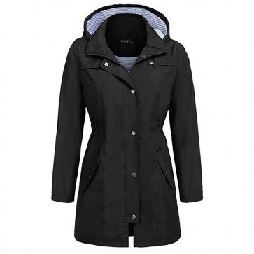 Women Raincoat Waterproof Jacket