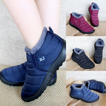Women Warm Fur Ankle Boots