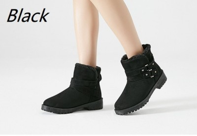 Winter Warm Fur Ankle Boots