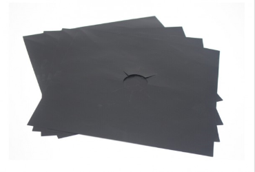4 pcs Burner Protector Liner Cover