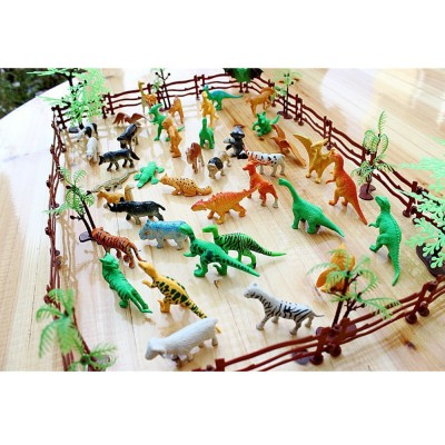 68-piece Simulation Zoo Toy