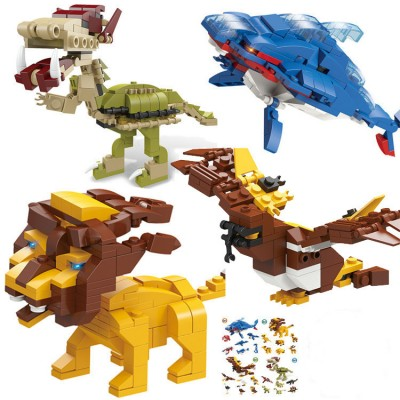 6-in-1 Assembled Building Blocks Toy