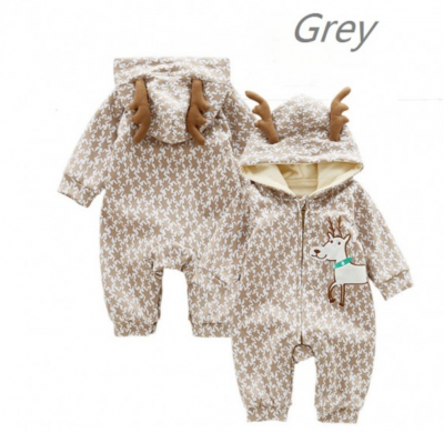 Infant Romper Hooded Jumpsuit