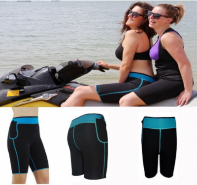 Stretch Neoprene Fitness Slimming Shorts