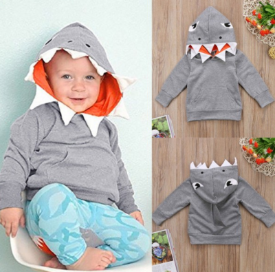 Kids Shark Hooded