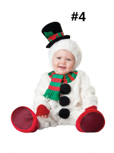 Kids Christmas Cosplay Costume